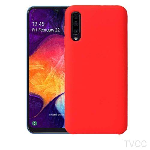 Silky Soft touch TPU Case- fouxia (Samsung Galaxy A50)
