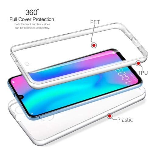 360 Front/Back Διάφανο (Huawei Y7 2019)