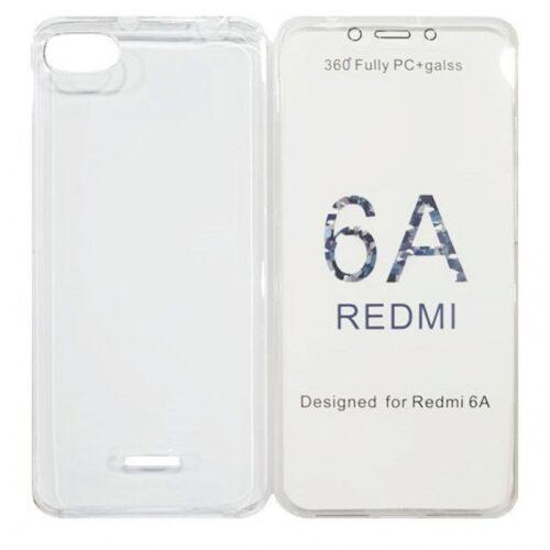 360 Full Body Σιλικόνης Διάφανο (Xiaomi Redmi 6a)