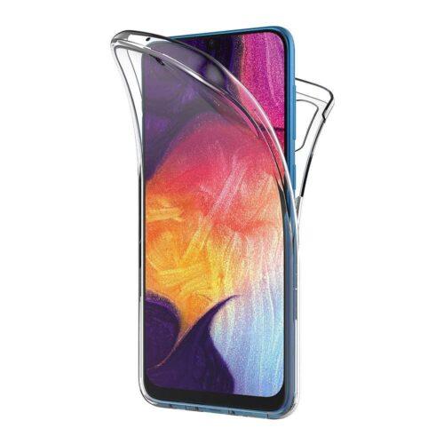 360 Full Cover Σιλικόνης Διάφανο (Galaxy A50)