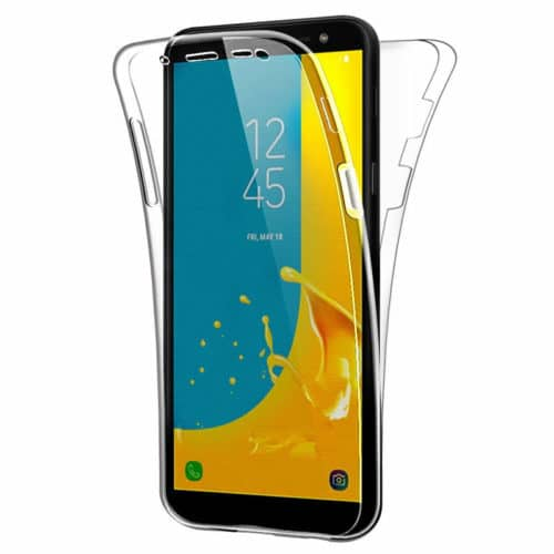 360 Full Cover Σιλικόνης Διάφανο (Galaxy J6+)