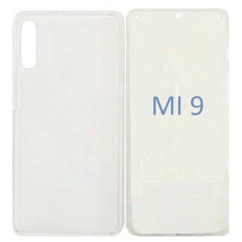 360 Full Cover Σιλικόνης Διάφανο (Xiaomi Mi 9)