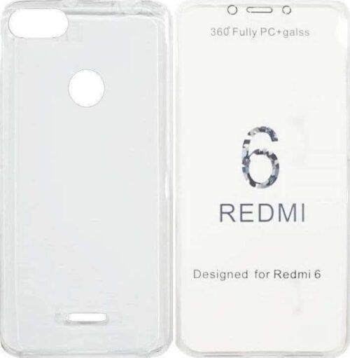 360 Full Cover Σιλικόνης Διάφανο (Xiaomi Redmi 6)