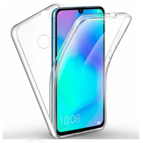 Forcell Front & Back Ultra Slim Case Clear for Huawei P30 Lite