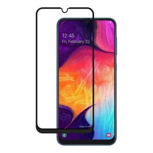 Full Glue Full Face Tempered Glass Black (Galaxy A50_A30)