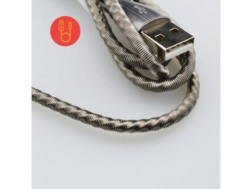 Καλώδιο Micro USB to usb Ταχείας Φόρτισης MoXom - CC-78 Spring Wire 2.4A