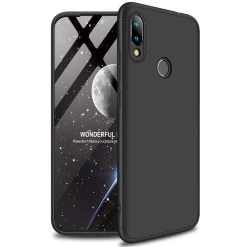 360 Full Cover Μαύρο (Xiaomi Redmi Note 7 / 7 Pro)