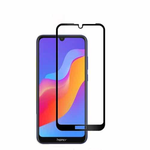 Full Face Tempered Glass Μαύρο (Honor 8A) y6 2019