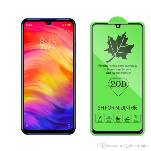 20D Full Cover Tempered (Redmi Note 7