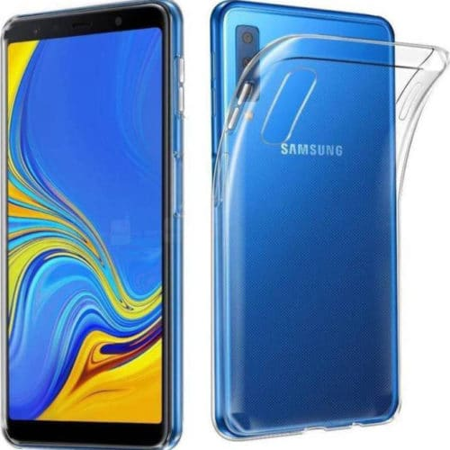Ultra Slim 0.5mm Back Cover Σιλικόνης Διάφανο (Galaxy A50)
