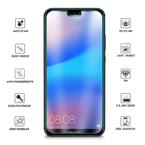 2.5D Tempered Glass (Huawei P20 Lite)