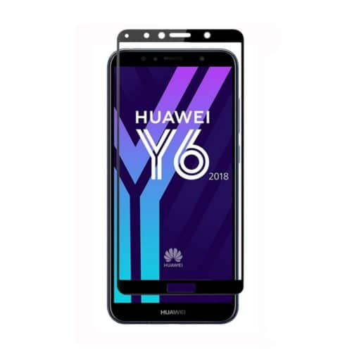 5D Full Glue Full Face Tempered Glass (Huawei Y6 2018/Y6 Prime 2018)