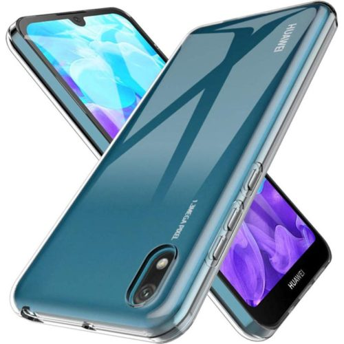 Back Cover Σιλικόνης Διάφανο (Huawei Y5 2019)