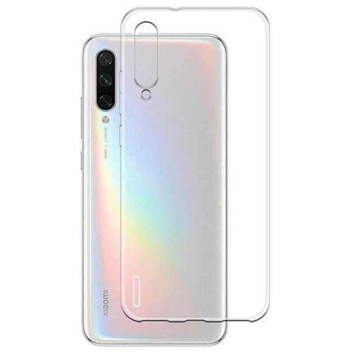 Back Cover Σιλικόνης Διάφανο (Xiaomi Mi A3)