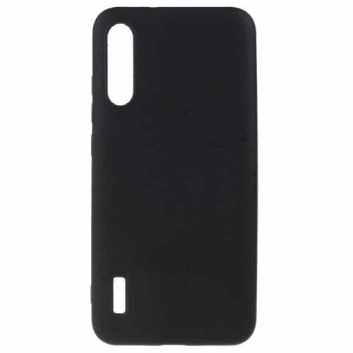 Back Cover Σιλικόνης Matte Black (Xiaomi Mi A3)