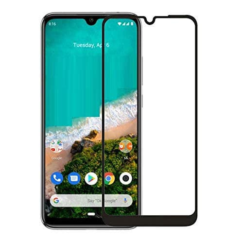 5D Full Glue Full Face Tempered Glass Black (Huawei Y7 2019/Huawei Y7 Pro 2019)