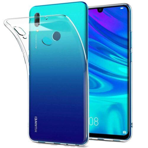 Ultra Slim 0.5mm Back Cover Σιλικόνης Διάφανο (Huawei Y7 2019)