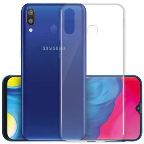 Back Cover Σιλικόνης 0.3 Διάφανο (Galaxy M20)