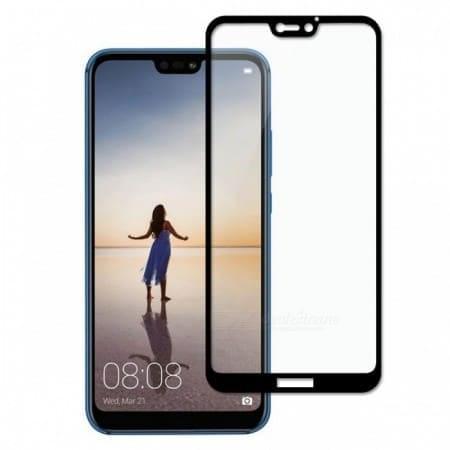 Full Face Tempered Glass Black (Huawei P20 Lite)