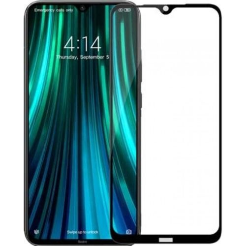 Full Glue Full Face Tempered Glass Black (Redmi Note 8)
