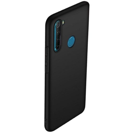 Back Cover Σιλικόνης Μαύρο (Xiaomi Redmi Note 8)