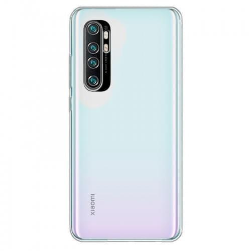 Θήκη Back Cover Σιλικόνης για Xiaomi Mi Note 10 Lite - Διάφανο