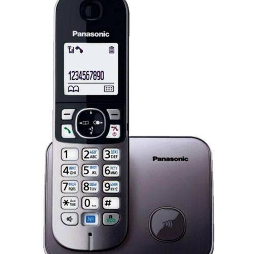 Panasonic KX-TG6811GRM Ασημί