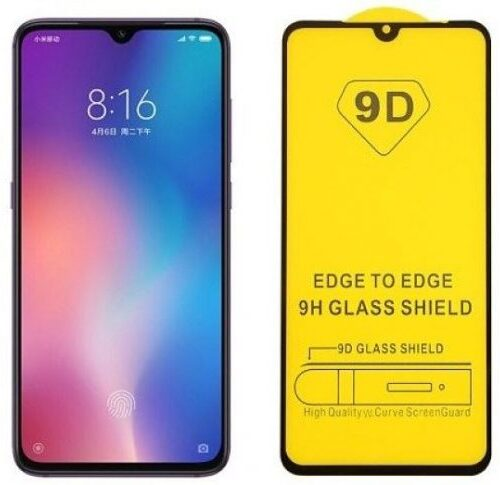Tempered Glass 9D για το Huawei Y6P Black