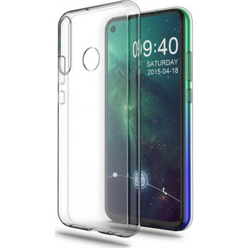 Back Cover Σιλικόνης Διάφανο (Huawei P40 Lite E)