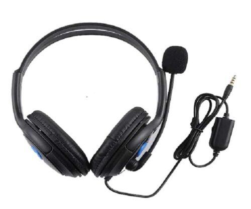 Ενσύρματα Ακουστικά με Μικρόφωνο 3.5mm για PS4 & XBOX-ONE With Volume Control ,super soft earmuffs & noise cancelling (amd-01)