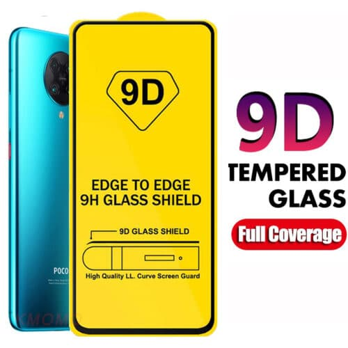 9D Full Glue Tempered Glass Black (Galaxy A31)