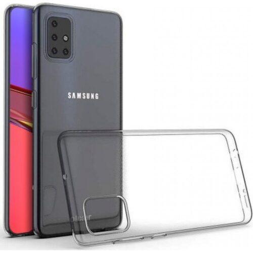 Θήκη Back Cover Σιλικόνης για Samsung Galaxy A51 - Διάφανο