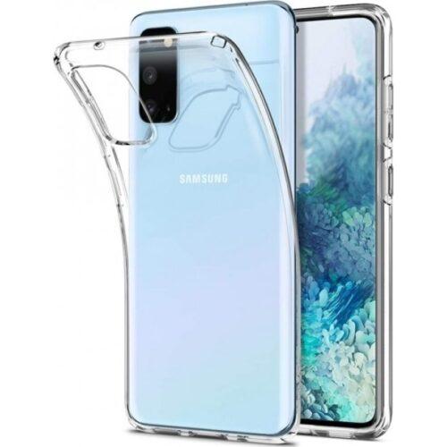 Back Cover Σιλικόνης Διάφανο (Galaxy A41)