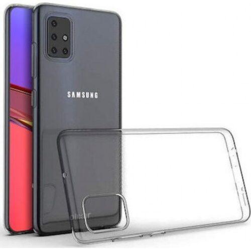 Oem Θήκη Σιλικόνης 2mm Για Samsung Galaxy A41 Διάφανη
