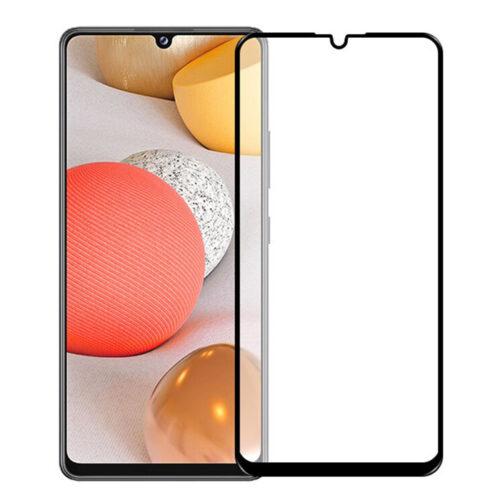 5D Full Cover Προστασία Οθόνης Tempered Glass 9H Black για Samsung A32 5G