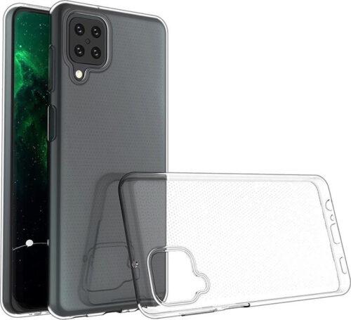 Back Cover Σιλικόνης Διάφανο (Galaxy A12)