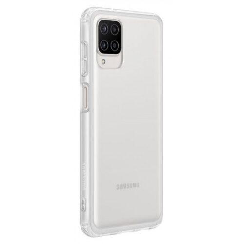 Back Cover Σιλικόνης Διάφανο (Galaxy A12)1