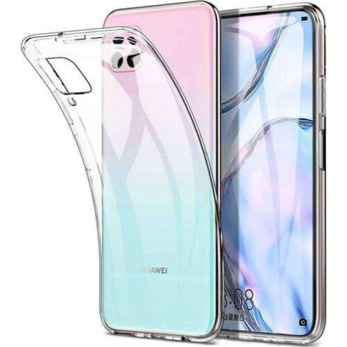 Back Cover Σιλικόνης Διάφανο (Huawei P40 Lite)