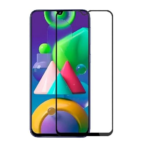 Full Cover Full Glue Προστασία Οθόνης Tempered Glass 9H για Samsung Galaxy A32 5G - Μαύρο