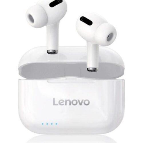 Lenovo® LivePods LP1S TWS Ακουστικά Bluetooth με Κουτί Φόρτισης - Λευκό (6928760166535)