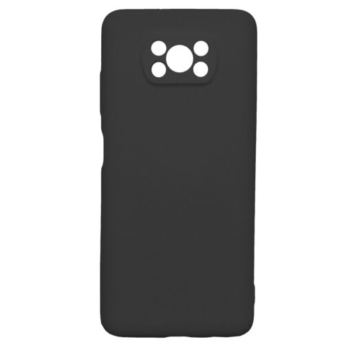 Poco X3 Back Cover Μαύρο (Poco X3 NFC)