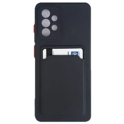 SAMSUNG-GALAXY-A52-TPU-SOFT-SILICONE-BACK-COVER-CASE-BLACK-WITH-A-CREDIT-CARD-SLOT-_OEM_