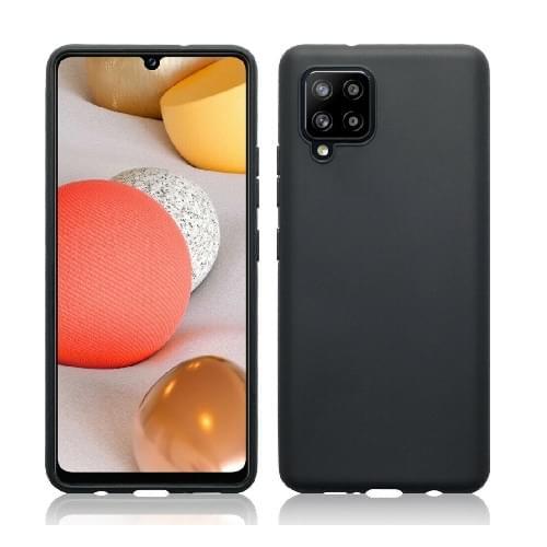 Samsung Galaxy A42 5G TPU Silicone Back Cover Case Black (oem)