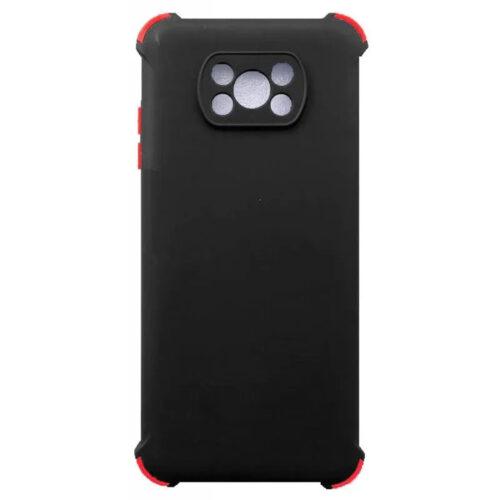 XIAOMI POCO X3 PRO / POCO X3 NFC TPU SILICONE BACK COVER CASE SHOCKPROOF ANTI SHOCK BLACK (OEM)