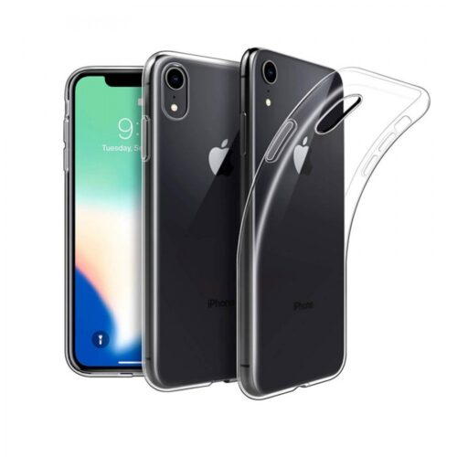 Back Cover Σιλικόνης Διάφανο (iPhone XR)