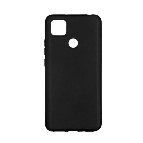 Back Cover Silicone Μαύρο (Redmi 9C)