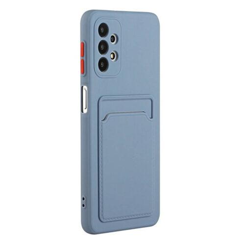 Θήκη για Xiaomi Poco X3 NFC Back Cover με Υποδοχή Κάρτας (Μπλε)