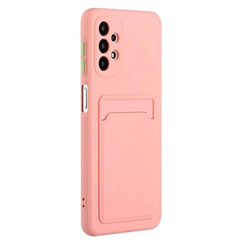 Θήκη για Xiaomi Poco X3 NFC Back Cover με Υποδοχή Κάρτας (Ροζ)